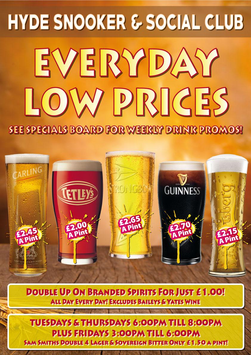 Pint-Prices