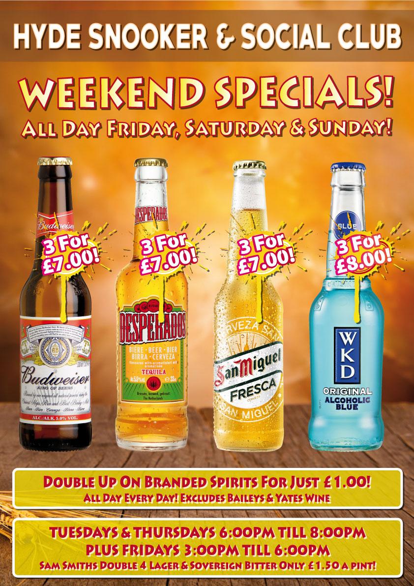 Weekend-Specials