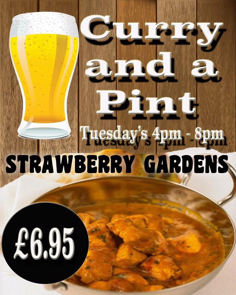 curry pint strawbs